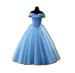 C0393 Ball Dresses i05 Blue Dress
