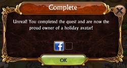 Valentines Update Avatar Challenge Complete