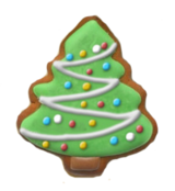 Christmas Update Gingerbread Trees