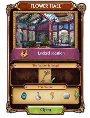 FlowerHall-Unlocking