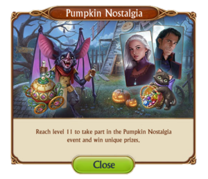 2018 October Pumpkin Nostalgia Update