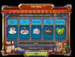 Fun Shop Mini Event