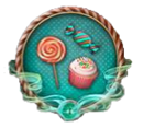 Decorative Quest Border Enchanted Confectionery