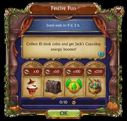Festive Fun October 2017