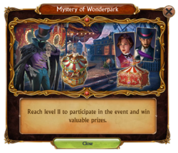 2017 September Mystery of Wonderpark Update