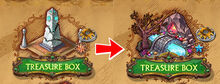 Old vs New Treasure Box Icon