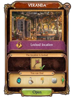 Veranda-Unlocking