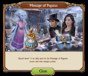 Message of Pegasus   Seeker's Notes: Hidden Mystery Wiki   FANDOM