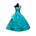 C0393 Ball Dresses i06 Turquoise Dress