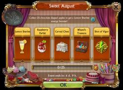 Sweet August Mini Event