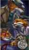 16 Long Fall Fox Family