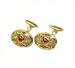 C0018 Valuable Cufflinks i06 Gold Cufflinks