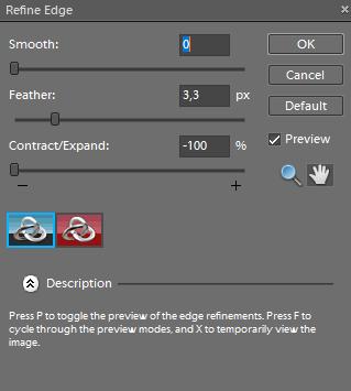 Photoshop refine edges