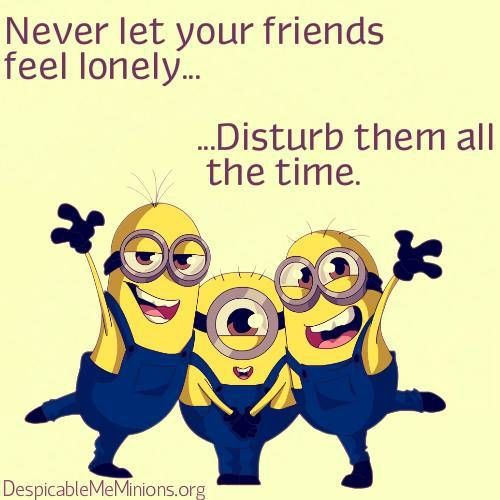 Top  Funny Minions Friendship Quotes Funny Jpg