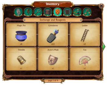 Inventory Exchange and Reagents Tab