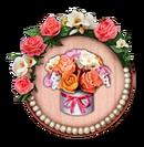 Decorative Quest Border Flower Festival