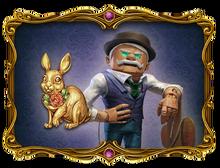Magic Rabbit Talisman and Park Inhabitants Picture