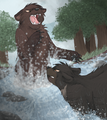 Duel in the river by cascadingserenity d63cfko.png