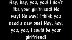 Avril Lavigne-Girlfriend Lyrics