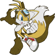 Tails Sonic Riders