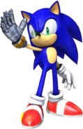Sonic SATBK Artwork