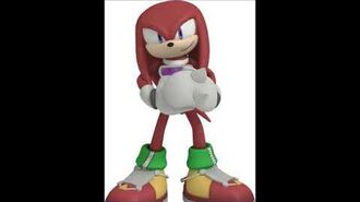 Sonic Free Riders - Knuckles The Echidna Voice Sound