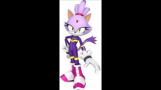 Sonic Free Riders - Blaze The Cat Unused Voice Sound