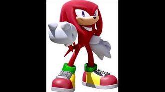 Team Sonic Racing - Knuckles The Echidna Voice Clips