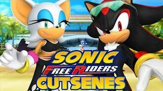Sonic Free Riders - Team Dark Cutscenes