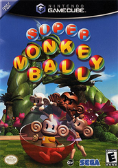 Super Monkey Ball Coverart