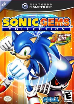 Sonic Gems Collection cover