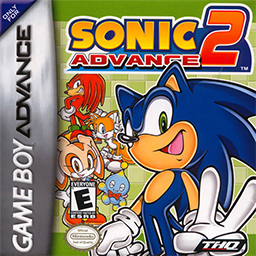 Sonic Advance 2 cover