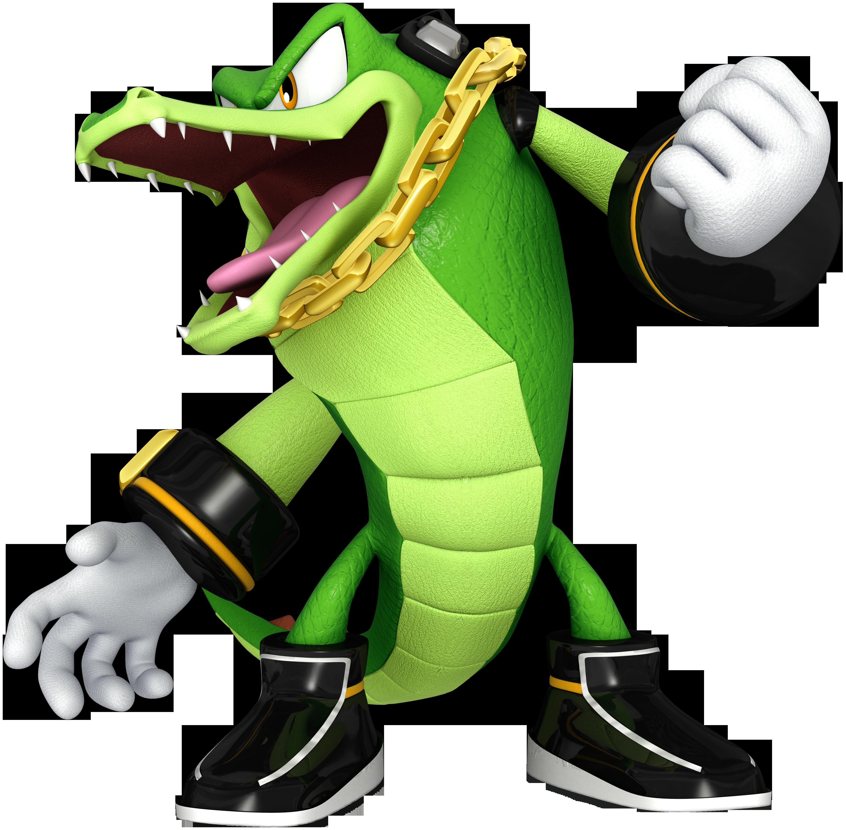Vector The Crocodile Sega Wiki Fandom