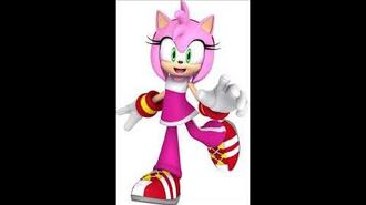 Sonic Free Riders - Amy Rose Unused Voice Sound