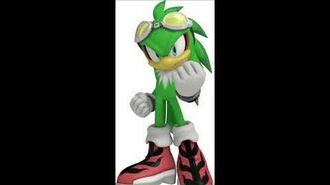 Sonic Free Riders - Jet The Hawk Voice Sound