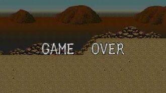 Golden Axe III game over