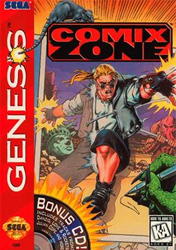 Comix Zone Coverart