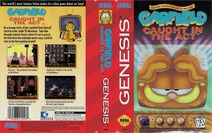 Garfield Caught in the Act Genesis Cover US