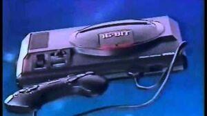 CM Mega Drive (メガドライブ) SEGA 16BIT