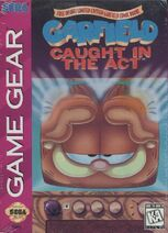 Garfield Caught in the Act GameGear Cover US