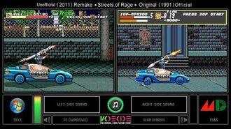 Streets of Rage (PC vs Sega Genesis) Side by Side Comparison