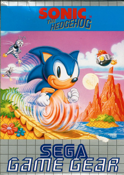 Sonic the Hedgehog (Game Gear) boxart