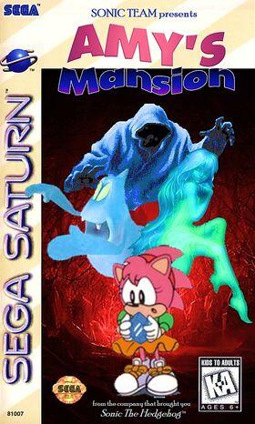 Amy's Mansion (1995) Sega Saturn Box