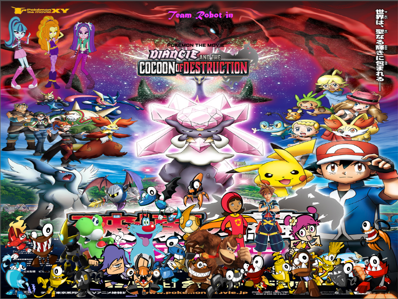 Team Robot In Diancie And The Cocoon Of Destruction Sega Unit