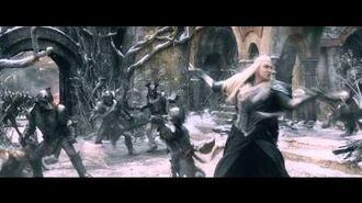 Thranduil's Attack - The Hobbit Battle of the Five Armies - Full HD