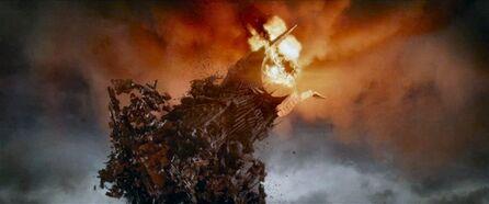 Sauron détruit