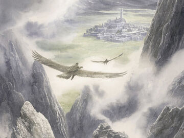 Húrin and Huor are Carried to Gondolin