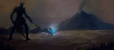 Fingolfin et Morgoth