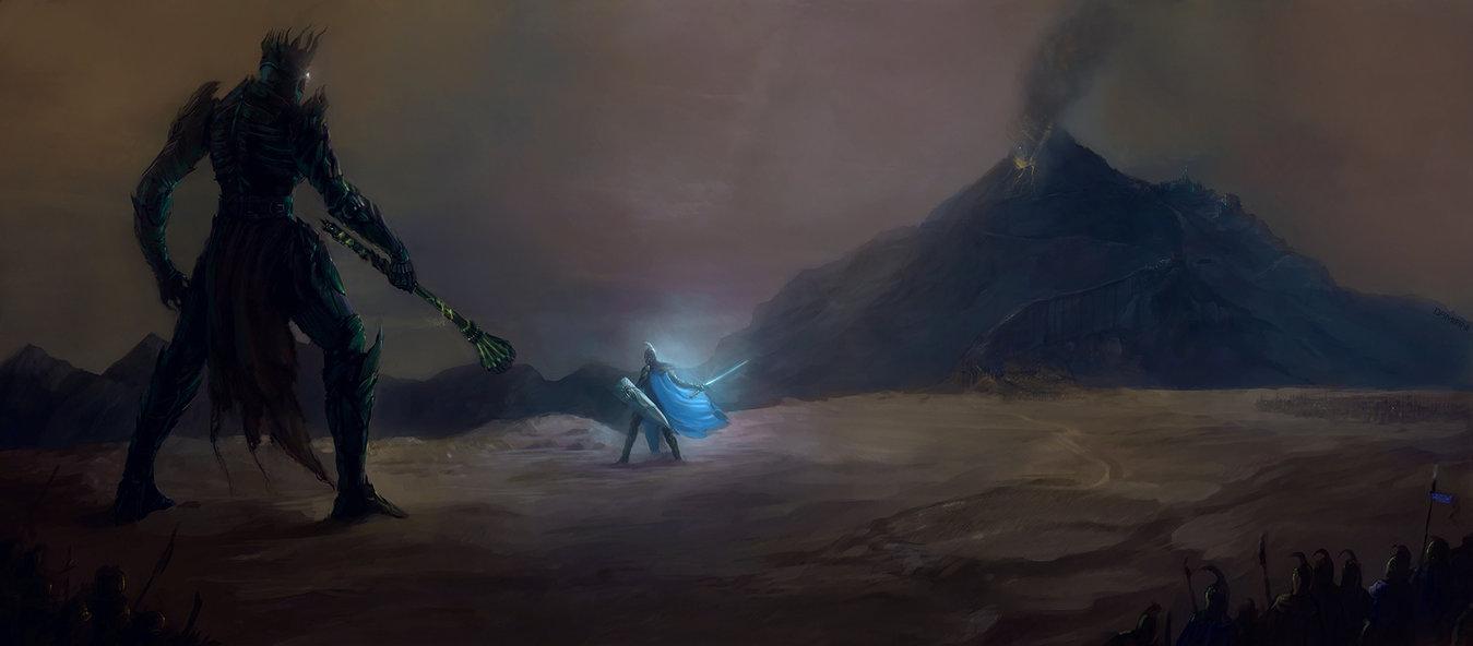 Fingolfin et Morgoth