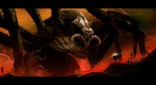 Ungoliant et Melkor